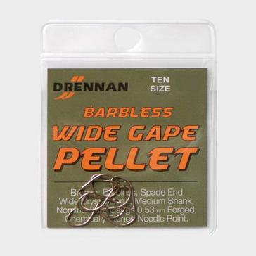 Multi DRENNAN Barbless Wide Gape Pellet Size 14