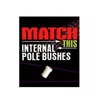 White Maver Internal Pole Bush Size 7 4.8mm