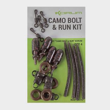 Black KORUM Camo Bolt & Run Kit