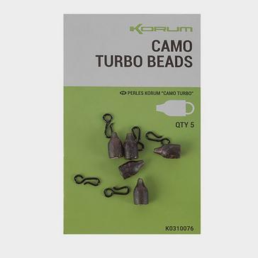 Black KORUM Camo Turbo Beads