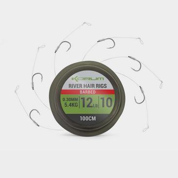 Indigo KORUM Supersteel River Hair Rigs (Size 10)