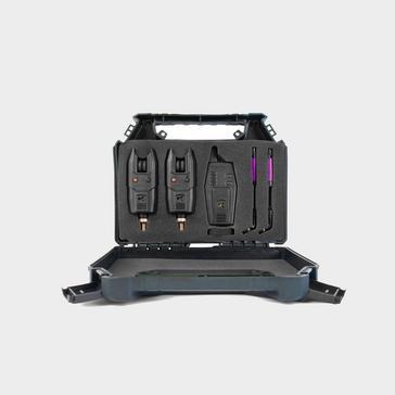 Black KORUM KBI-R 2-Rod Alarm Presentation Set