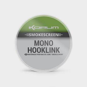 KORUM 10lb Smokescreen Mono Hklink
