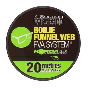 Brown Korda Boilie Funnel Web Micromesh Refill (20m)