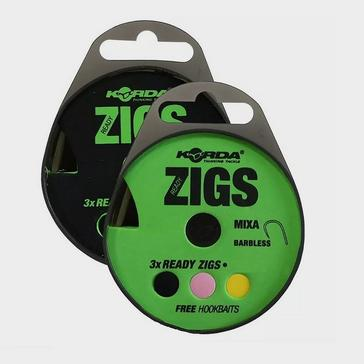 Korda Ready Zigs 6Ft Sz 10 Bless