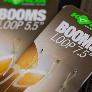 Brown Korda Boom 7.5In Loop 3Pk