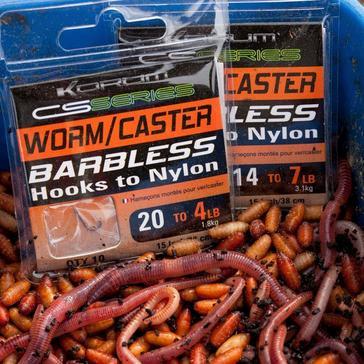 Yellow KORUM H2N Worm/Caster 14