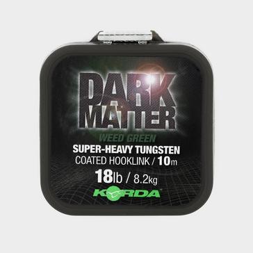 Green Korda Dark Matter Tungsten Coated Braid Weed Green 18lb