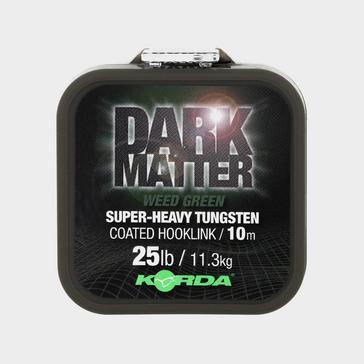 Korda Dark Matter Tungsten Coated Brd Weed Grn 25Lb 10M