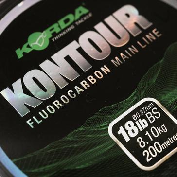 Multi Korda Kontour Fluorocarbon 18lb