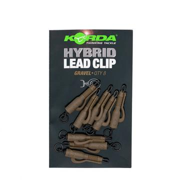 Brown Korda Hybrid Lead Clip