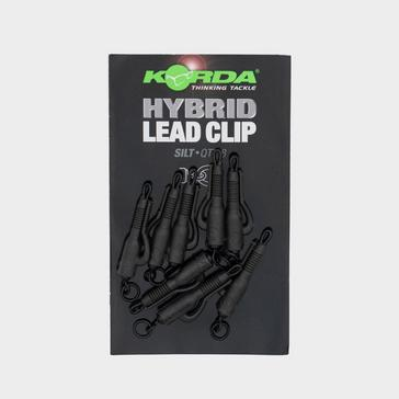 Black Korda Hybrid Lead Clips Silt