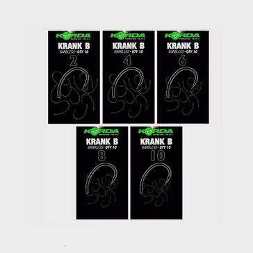 BLACK Korda Krank Barbless Size 6