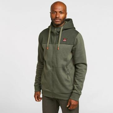 Green KLOBBA Men's Full-Zip Hoodie