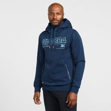 Black KLOBBA Men's Graphic Hoodie