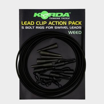 Multi Korda Lead Clip Action Pcks Weed
