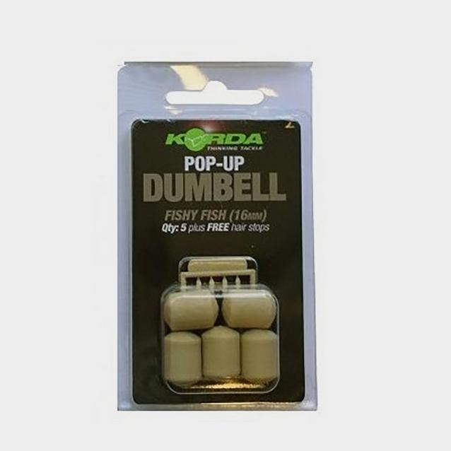 Korda 16Mm Pop Up Dumbell Fish image 1