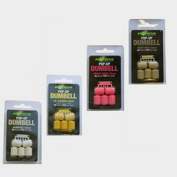 Korda 16Mm Pop Up Dumbell Banoffee