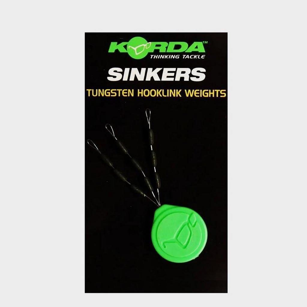 BLACK Korda Sinker Tungsten H W Lrg Grn image 1