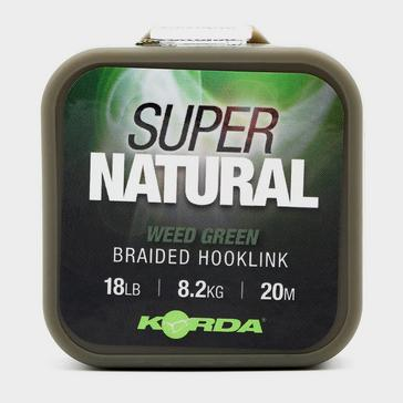 Green Korda Supernatural Braid 18lb Weed