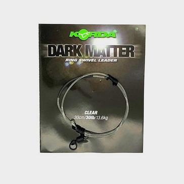 BLACK Korda Clear Leader Ring Swivel