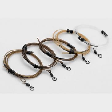 BLACK Korda DM Ldr 30cm Ring Swivel Clear 30lb