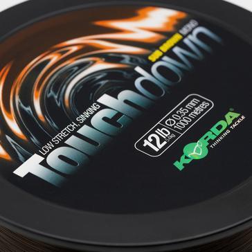 Brown Korda Touchdown Brn 0.35Mm 12Lb