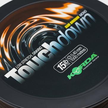 Black Korda Touchdown Brown 0.4Mm 15Lb