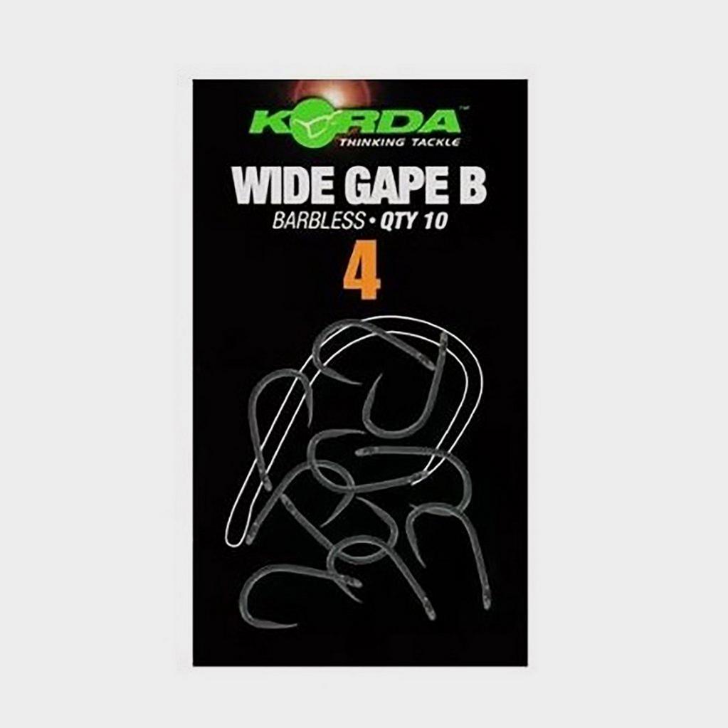Korda Wide Gape Size 4 Barbless image 1