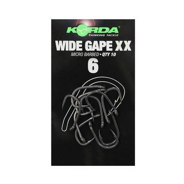 Korda Sz 6 Wide Gape Xx Hooks