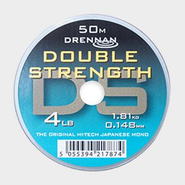 Clear DRENNAN Double Strength Standard 4lb 50m
