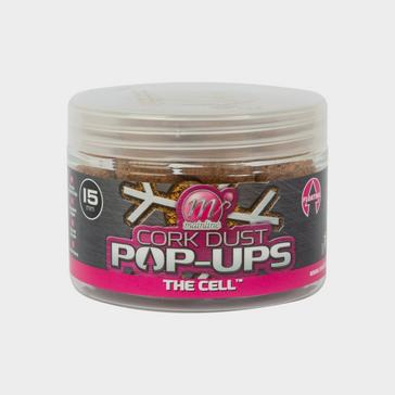 Clear MAINLINE Dedicated Cork Dust Pop-Ups 15mm - Cell