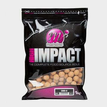 Cream MAINLINE High Impact Choc-O Boilies 15mm 1kg