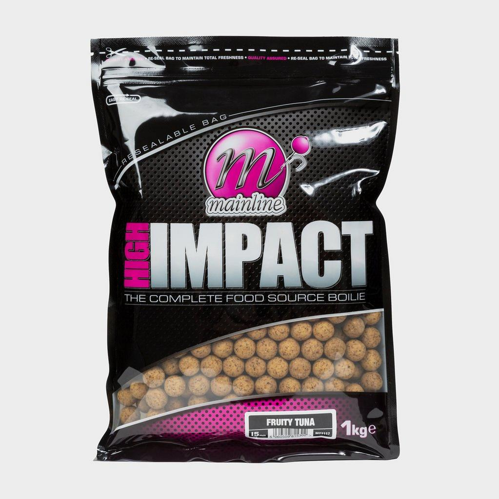 MAINLINE High Impact Fruity Tuna Boilies 15mm image 1