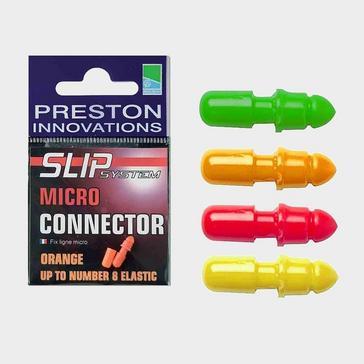 MULTI PRESTON S/S Micro Connector Flu Red