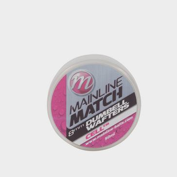 White MAINLINE 8mm White Cell Match Dumbell Wafters