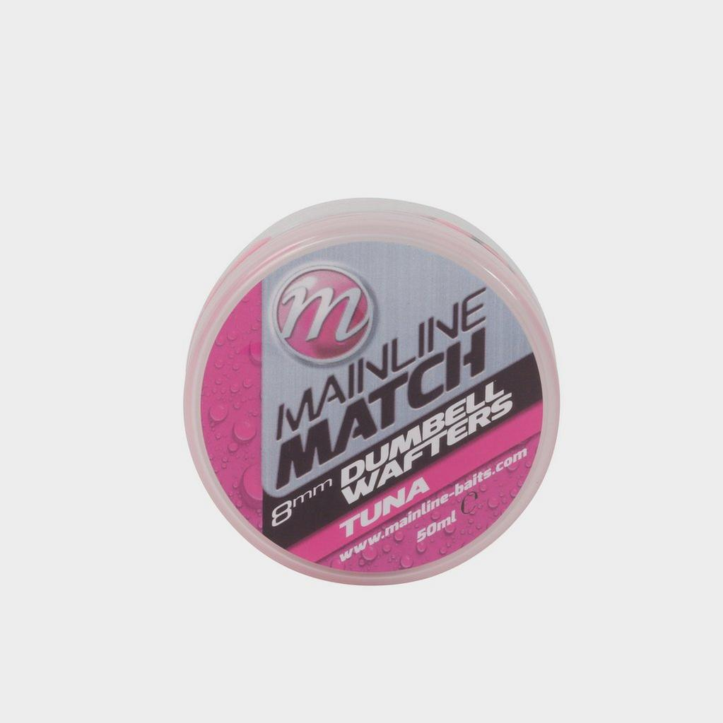 Pink MAINLINE 8mm Pink Tuna Match Dumbell Wafters image 1