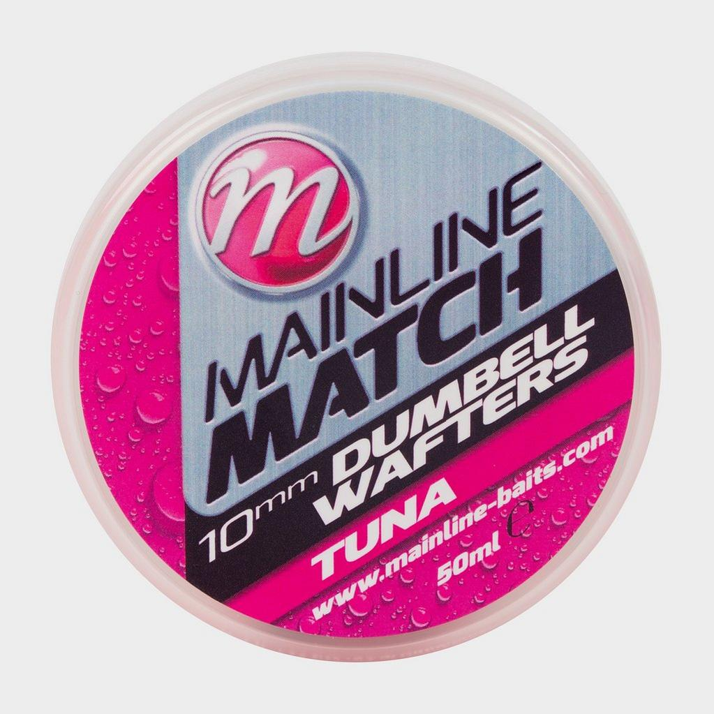 Pink MAINLINE Match Dumbell Wafter 10mm Pink Tuna image 1