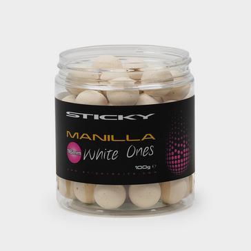 Sticky Baits Sticky Manilla White Ones 12Mm 100G Pot