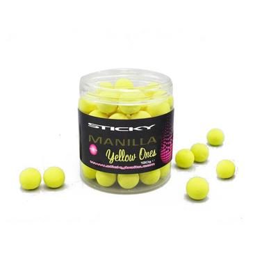 Yellow Sticky Baits Manilla Ylw Ones Wafters 16Mm 130G Pot