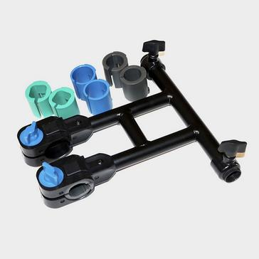Black NUFISH Double Brolly Clamp