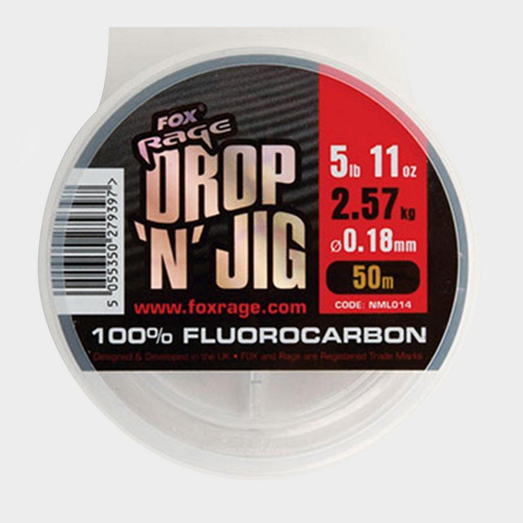 Silver FOX RAGE 50M Drop Jig Flurocarbon 0.20Mm image 1