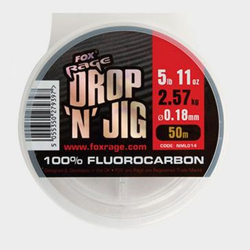 Silver FOX RAGE 50M Drop Jig Flurocarbon 0.20Mm