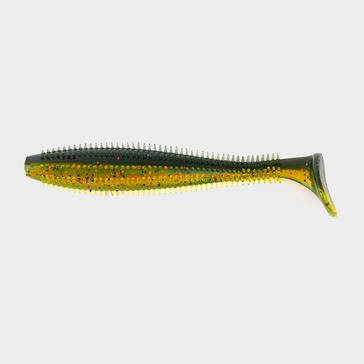 FOX RAGE 9Cm Dark Oil Spikey Shad Ultra Uv
