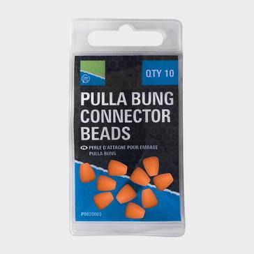 Orange PRESTON Pulla Bung Beads