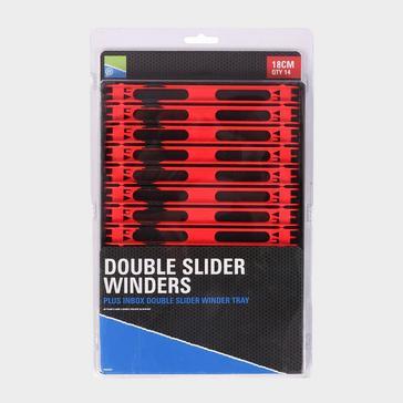BLACK PRESTON 18Cm Tray Dbl Slider Winders