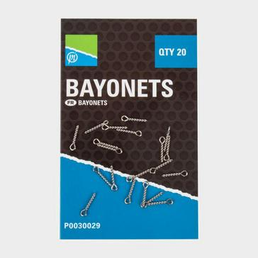 Silver PRESTON Bayonets