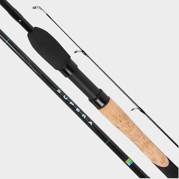 Black PRESTON Carbon Active Supera 11ft Pellet Waggler Rod