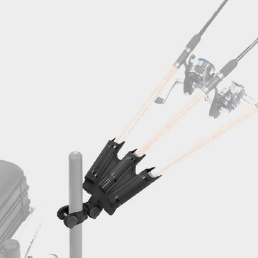 Black PRESTON Triple Rod Support - P0110006