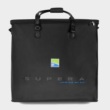 Black PRESTON Supera Large Eva Net Bag